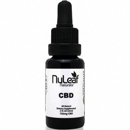 Nuleaf CBD Ölflasche