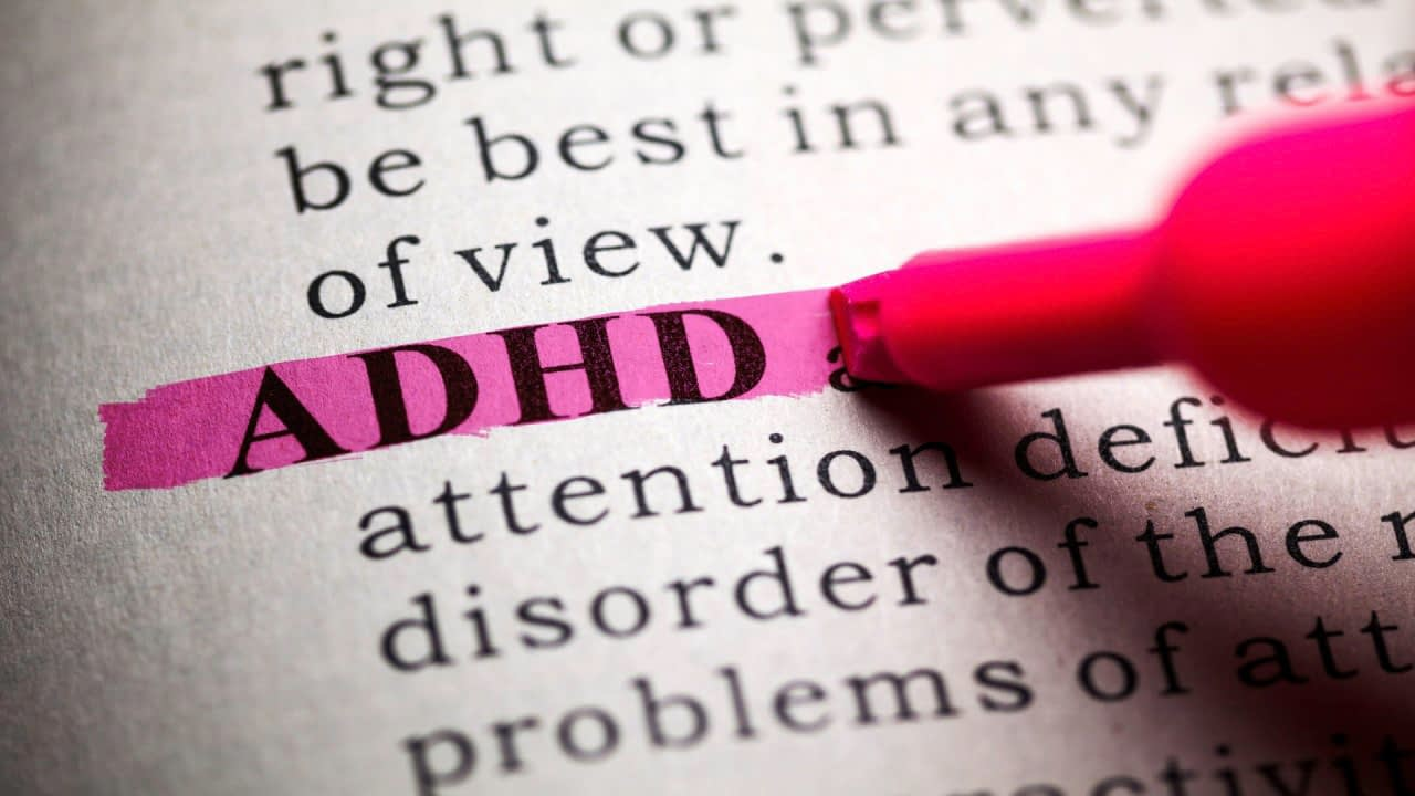 Dictionary, definition of the word ADHD